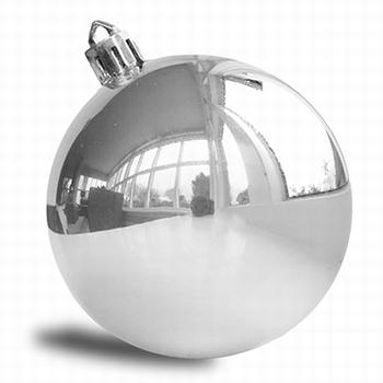 Zilver  - 6 cm glans . 384 stuks  Per omdoos