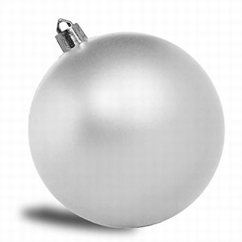 Zilver. - 10 cm Mat. 88 stuks  Per omdoos