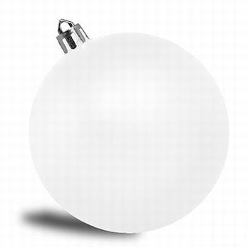 Wit   - 6 cm Glans  384 stuks  Per omdoos