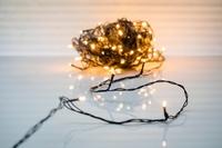 guirlande Lumineuse 100 LED Chaut Noir PVC per stuk/ piece