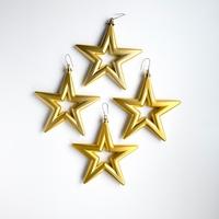 18 set a 4 st. Open Star - 14 cm Goud Per omdoos