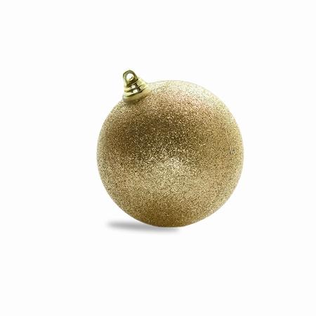 Goud. - 8 cm Glitter . 160 stuks  Per omdoos