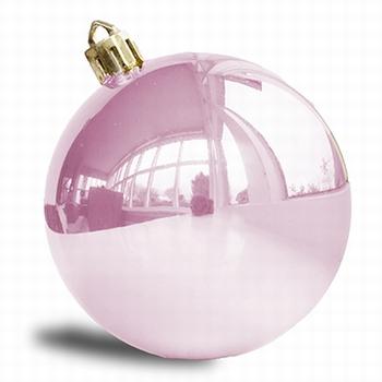 Baby roze 8 cm glans. 160 stuks  Per omdoos