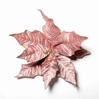 Artificial christmas Pontsettia Pink Per omdoos